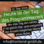 Tag des Programmierers